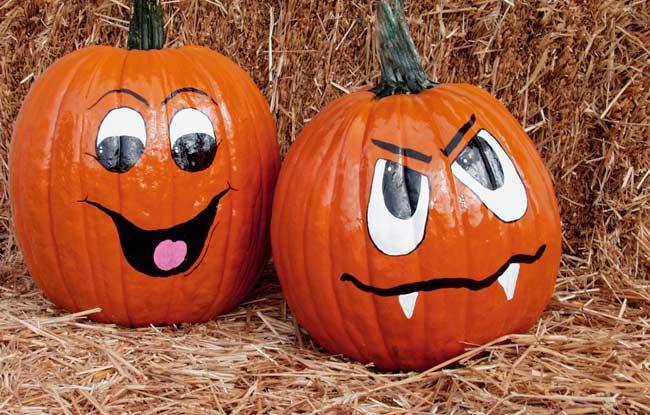 Activit s automnales faire en couple - Model citrouille d halloween ...